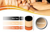 Hands Contact PowerPoint Template#11