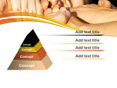Hands Contact PowerPoint Template#12