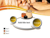 Hands Contact PowerPoint Template#16