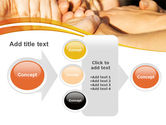 Hands Contact PowerPoint Template#17