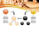 Hands Contact PowerPoint Template#19