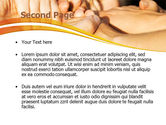 Hands Contact PowerPoint Template#2