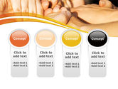 Hands Contact PowerPoint Template#5