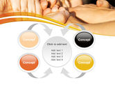 Hands Contact PowerPoint Template#6