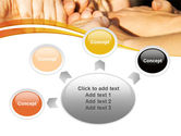 Hands Contact PowerPoint Template#7