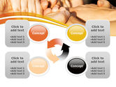 Hands Contact PowerPoint Template#9