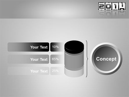 2011 Timer PowerPoint Template Slide 11