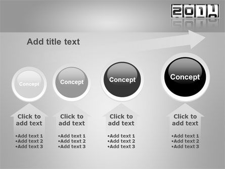 2011 Timer PowerPoint Template Slide 13