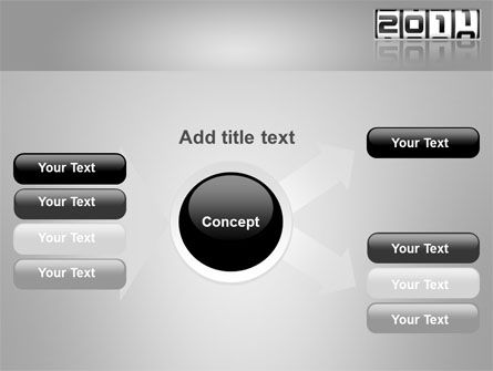 2011 Timer PowerPoint Template Slide 14