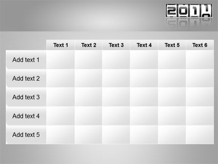 2011 Timer PowerPoint Template Slide 15