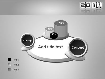 2011 Timer PowerPoint Template Slide 16