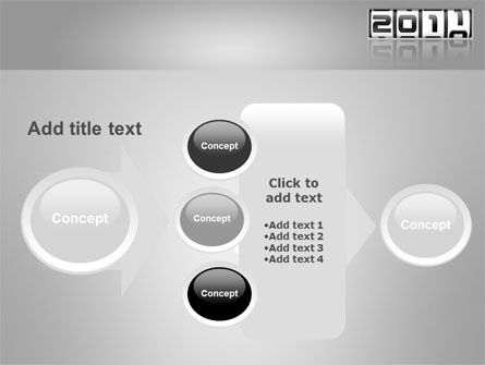 2011 Timer PowerPoint Template Slide 17