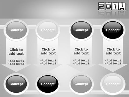 2011 Timer PowerPoint Template Slide 18