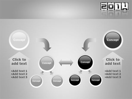 2011 Timer PowerPoint Template Slide 19