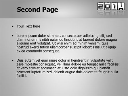 2011 Timer PowerPoint Template Slide 2