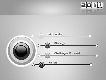 2011 Timer PowerPoint Template, Slide 3, 08306, Holiday/Special Occasion — PoweredTemplate.com
