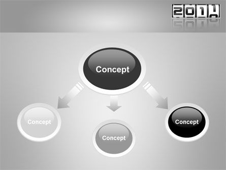 2011 Timer PowerPoint Template, Slide 4, 08306, Holiday/Special Occasion — PoweredTemplate.com