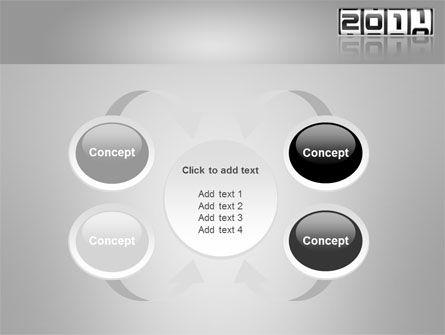 2011 Timer PowerPoint Template Slide 6