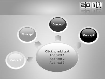 2011 Timer PowerPoint Template Slide 7