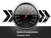 Careers/Industry: Speed Restrictions PowerPoint Template #08307