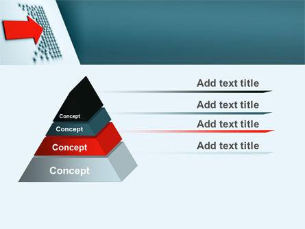 Arrow Breaking Through PowerPoint Template Slide 12