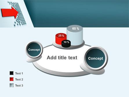 Arrow Breaking Through PowerPoint Template Slide 16