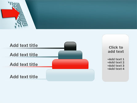 Arrow Breaking Through PowerPoint Template Slide 8