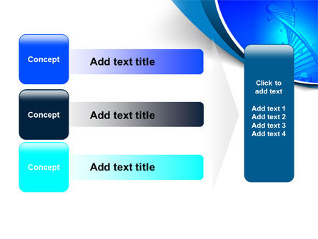DNA Strand PowerPoint Template Slide 12