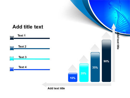 DNA Strand PowerPoint Template Slide 8