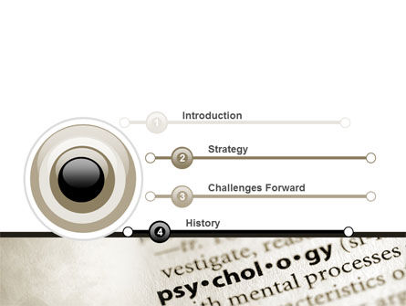 Definition Of Psychology PowerPoint Template, Slide 3, 08310, Technology and Science — PoweredTemplate.com
