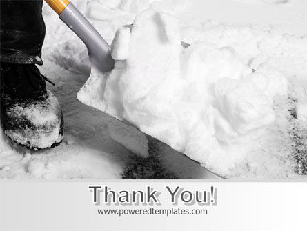 Snow Shovel Free PowerPoint Template Slide 20