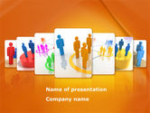 Telecommunication: Social Interactions PowerPoint Template #08315