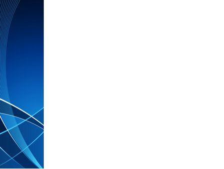 Deep Blue Theme PowerPoint Template, Slide 3, 08316, Abstract/Textures — PoweredTemplate.com