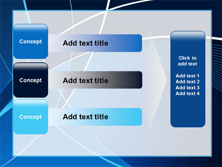 Deep Blue Theme PowerPoint Template Slide 12