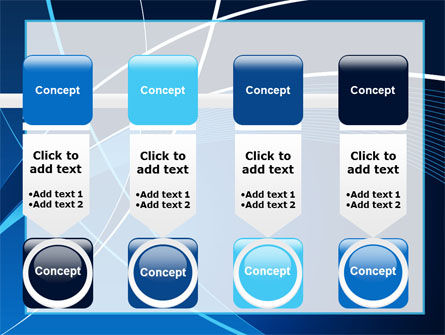 Deep Blue Theme PowerPoint Template Slide 18
