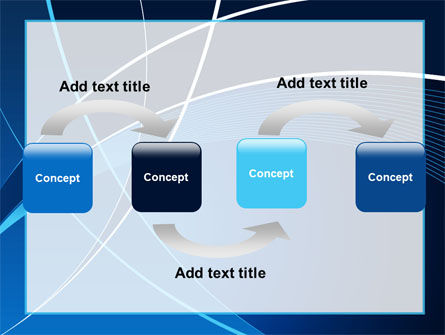 Deep Blue Theme PowerPoint Template Slide 4