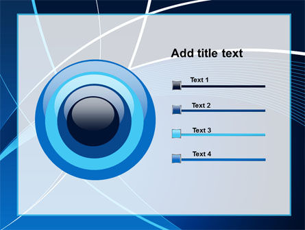 Deep Blue Theme PowerPoint Template Slide 9