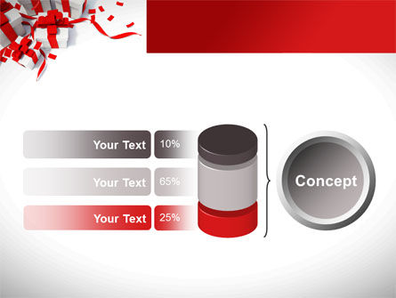Wrapped Presents PowerPoint Template Slide 11