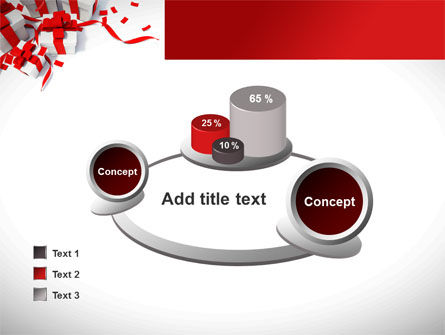 Wrapped Presents PowerPoint Template Slide 16