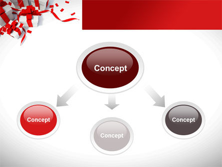 Wrapped Presents PowerPoint Template Slide 4