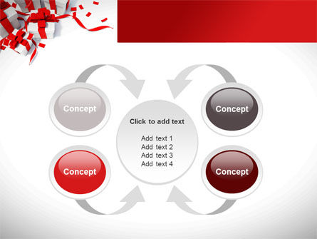 Wrapped Presents PowerPoint Template Slide 6