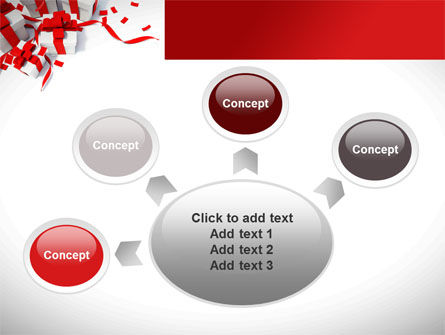Wrapped Presents PowerPoint Template Slide 7