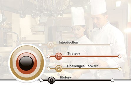 Female Chef PowerPoint Template, Slide 3, 08318, Food & Beverage — PoweredTemplate.com