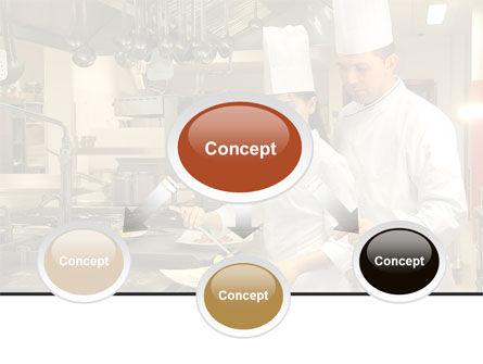 Female Chef PowerPoint Template, Slide 4, 08318, Food & Beverage — PoweredTemplate.com