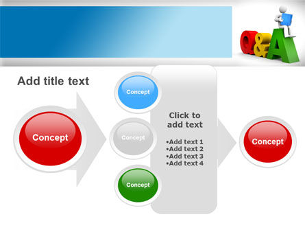 Questions & Answers PowerPoint Template Slide 17