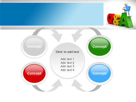 Questions & Answers PowerPoint Template Slide 6