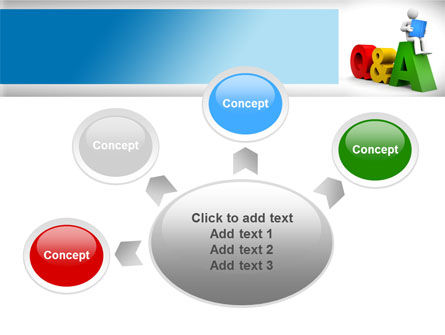 Questions & Answers PowerPoint Template Slide 7