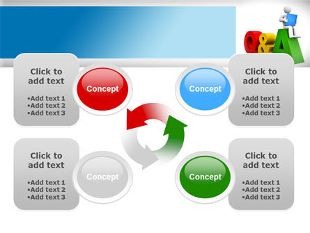 Questions & Answers PowerPoint Template Slide 9