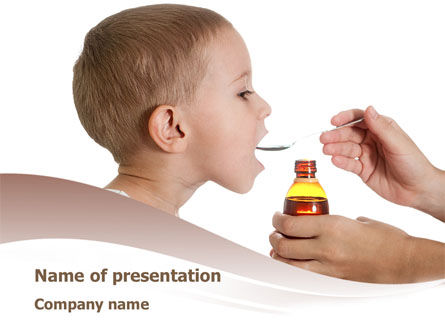 Cough Medicine PowerPoint Template
