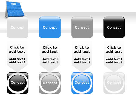 2011 Calendar PowerPoint Template Slide 18